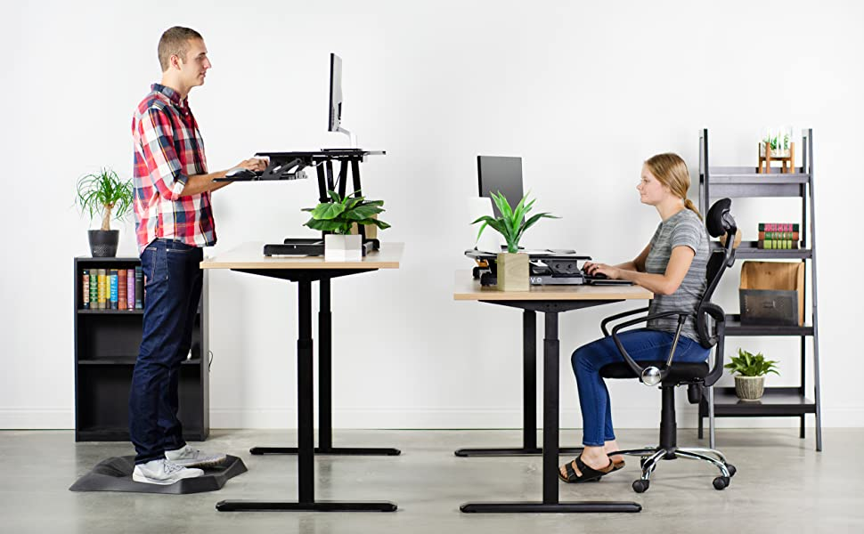 Fix Your Posture While Still Keeping Your Work Pace With MOVI's Stand Up Desk