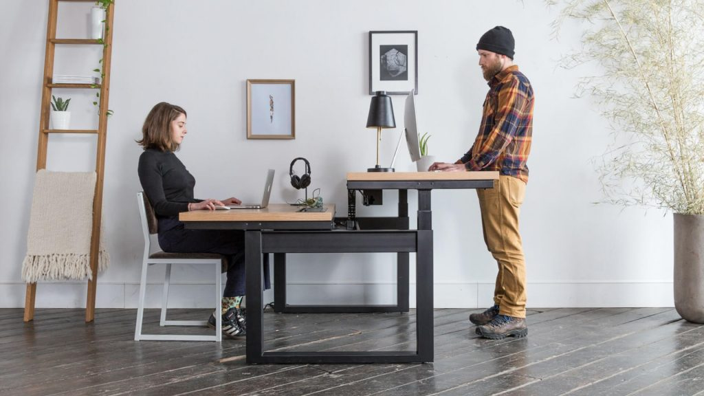 MOVI's stand up desk