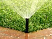 What effect will you get when you use an irrigation system on your lawn